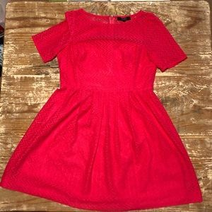 Alex Marie pink fit and flare dress